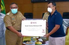 SCG Donasikan APD dan Disinfektan Ke Desa Sekitar…