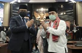 Jokowi Lantik Ahmad Riza Patria Pakai Protokol Covid-19