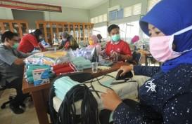 Baznas Salurkan 20.000 Masker Produksi Penjahit Binaan di Yogyakarta
