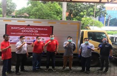 RBM Goat Gagas Donasi Beras di Tengah Pandemi Virus Corona