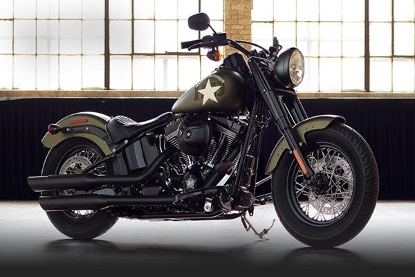 Harley Davidson Softail Slim S MY17 1.800 cc - harley/davidson.com