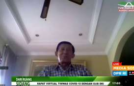 Debut Wagub DKI, Riza Patria Mati Gaya saat Rapat dengan DPR