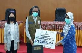 Bantu Penanganan Covid-19, Bank Sulselbar Salurkan Rp2 Miliar