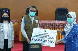Bank Sulselbar Donasikan Rp2 Miliar untuk Satgas Covid-19 Unhas