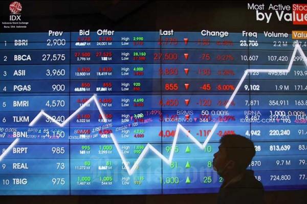 Perdagangan Jumat (17/4): IHSG dan Rupiah Kompak Menguat, Dampak Net Sell Minim - Market Bisnis.com