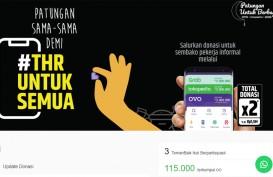 Tokopedia, Ovo, Grab Gelar Patungan THR untuk Warga Terdampak Corona