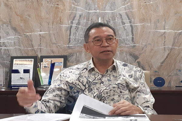 Presiden Direktur PT Nusantara Infrastructure Tbk. (META), M. Ramdani Basri. - Ilman A. Sudarwan