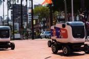 Hindari Corona, Kolombia Uji Coba Robot Pengantar Makanan