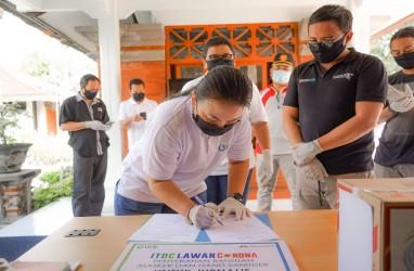 ITDC Sumbang Masker dan Hand Sanitizer untuk Jurnalis