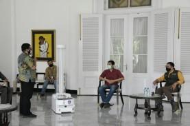 RS Rujukan Covid-19 di Jabar akan Gunakan Robot Disinfektan…