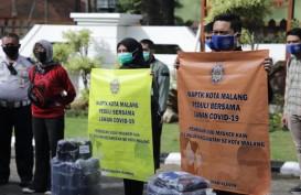 Alumni Kepamongprajaan Bagikan 3.000 Masker Cegah Covid-19
