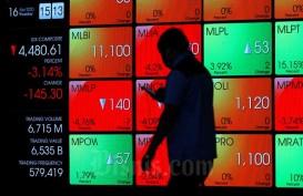 Investor Asing Catat Net Sell Rp572,95 Miliar Saat IHSG Melemah