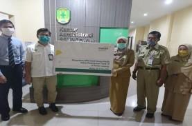Mandiri Syariah Area Malang Donasikan APD ke RS Rujukan…