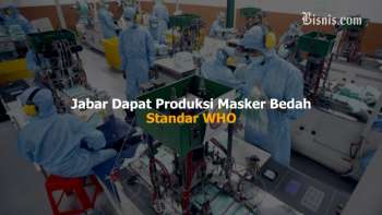 Jawa Barat Produsen Masker Bedah Berstandar WHO