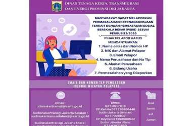 Pemprov DKI Tertibkan 281 Perusahaan Pelanggar PSBB Jakarta