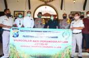Diwakili Alim Markus, Masyarakat Tionghoa Surabaya Bantu Sembako Corona