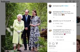 Hari ini Ratu Elizabeth Ultah ke-94, tak Ada Perayaan…
