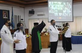 Gara-Gara Corona, 55 Dokter Baru UMM Disumpah via Daring, Begini Suasananya