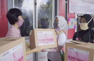 Warga Binaan Lapas Klas IIA Perempuan Malang Produksi 10.000 Masker