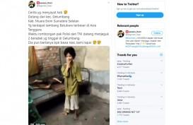 Kakak Beradik di Muara Enim ini Mengaku Kelaparan saat Didatangi Aparat