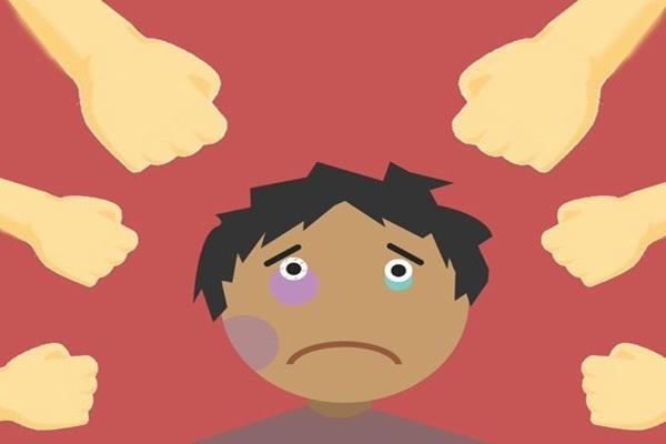 Ilustrasi anak mendapat perlakuan kasar. - Antara
