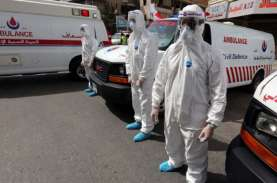 Gara-gara Covid-19, Lebanon Diguncang Unjuk Rasa