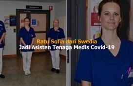 Putri Sofia dari Swedia Bantu Rawat Korban Covid-19