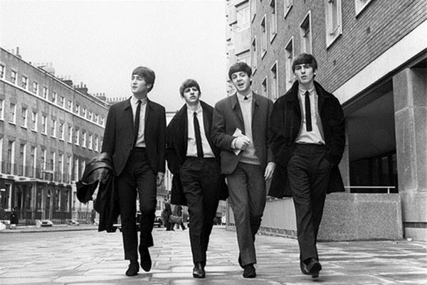 Grup band asal Liverpool, Inggris, The Beatles. - Reuters