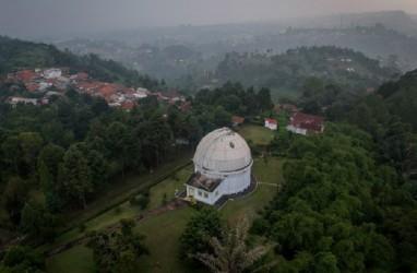 Observatorium Bosscha Amati Hilal Jelang Awal Ramadan 1441 H