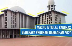 Masjid Istiqlal Meniadakan Program Rutin Ramadan