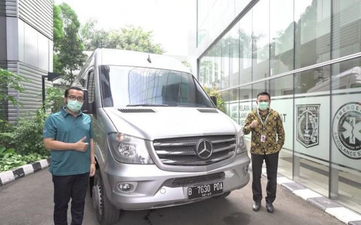 Mercedes-Benz Sprinter Van Ambulans Gawat Darurat (AGD) Dinas Kesehatan Provinsi DKI Jakarta. - MBDI