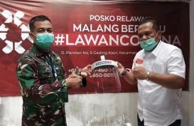Lawan Corona, Arema Salurkan Bantuan APD ke Wilayah Malang