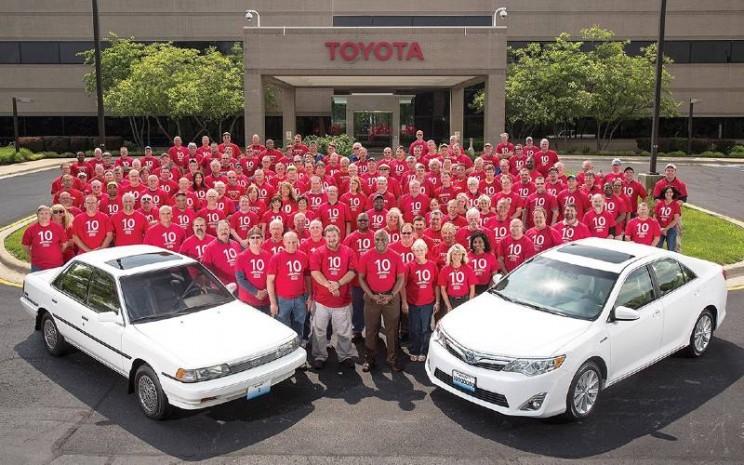 Kantor Pabrik Toyota di Amerika.  - Toyota.com