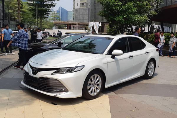 All-new Toyota Camry.  - Bisnis.com/Aprianus Doni Tolok