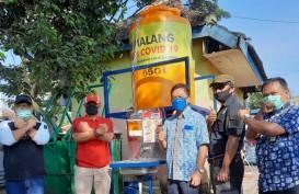 Pasar Tradisional di Kota Malang Dilengkapi Wastafel Portable sesuai Protokol Corona