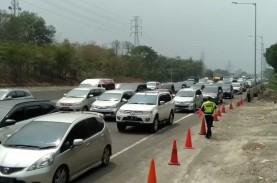 Tol Jakarta-Cikampek Ramai Lancar di Dua Arah pada…
