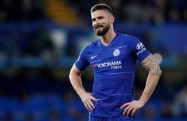 Giroud Diincar Inter Milan & Lazio, Chelsea Perpanjang Kontrak