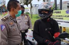 Polres Bogor Sekat Perbatasan dengan Cianjur & Sukabumi