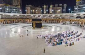 Masjidil Haram Sunyi, Begini Suasana Salat Tarawih di Depan Kabah