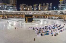 Masjidil Haram Sunyi, Begini Suasana Salat Tarawih…