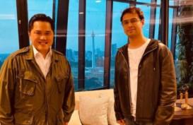 Artis Raffi Ahmad Kaget Menteri Erick Tak Punya Meja Kerja