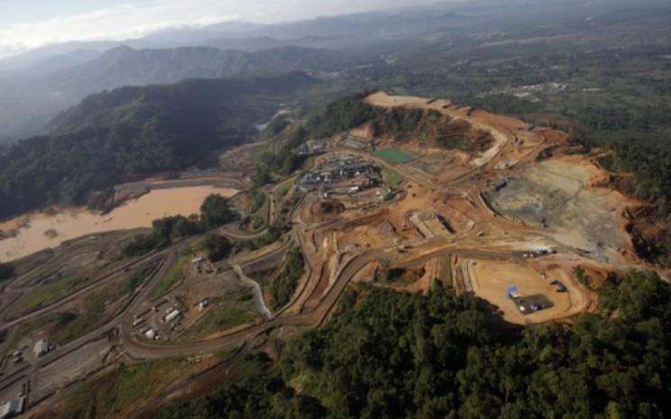 Tambang emas Martabe di Batang Toru, Sumatra Utara - Bloomberg/Dadang Tri