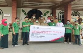 Semen Baturaja Salurkan Ribuan Alat Kesehatan di OKU