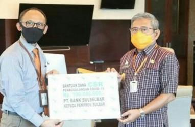 Gubernur Ali Baal Masdar Apresiasi Bantuan Penanggulangan Covid-19 dari Bank Sulselbar