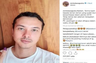 Ini Alasan Nicholas Saputra Tak Unggah Foto Diri di Instagram