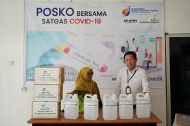 Pelindo IV Serahkan Bantuan APD untuk Rumah Sakit…