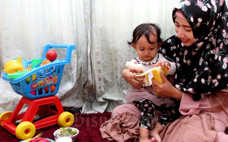 Ilustrasi Anak dan Ibu-Bisnis - Arief Hermawan P