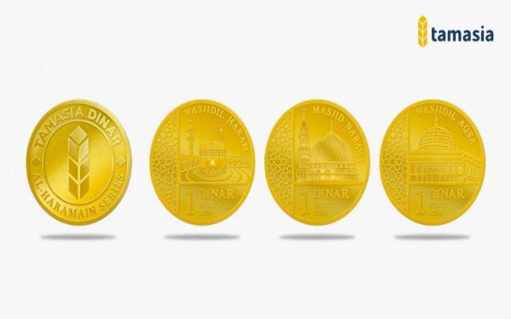 Koin emas Tamasia