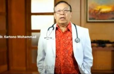 Dokter Kartono Mohamad Meninggal, Dunia Medis Berduka