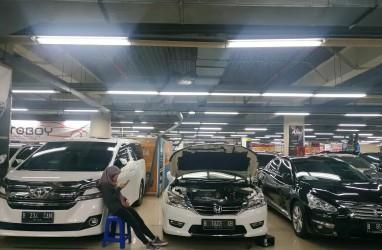 Pasar Melesu, Mobil Seken Turun Harga